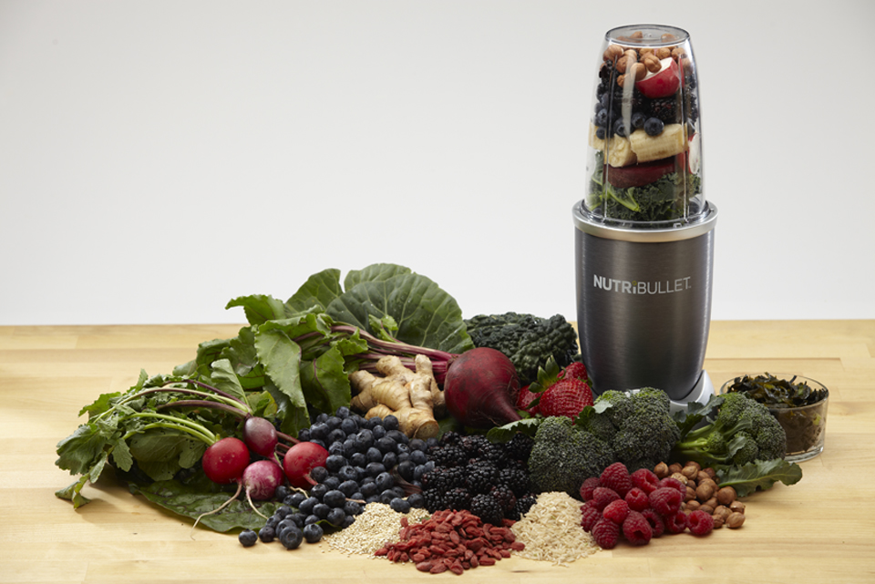juicing and nutribullet